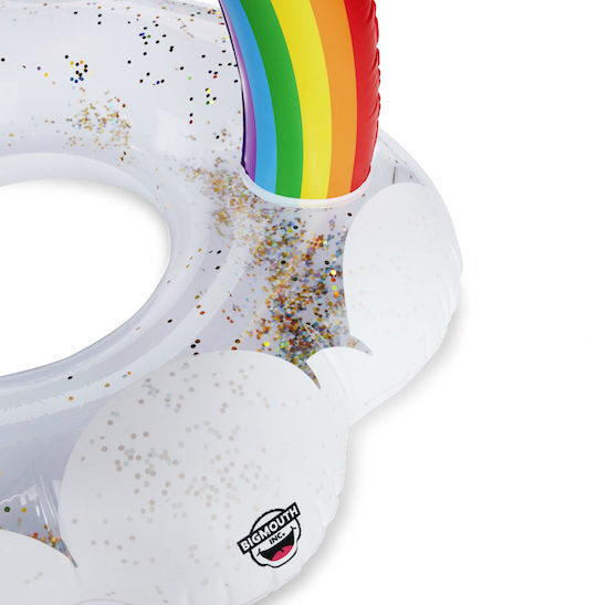 BigMouth Giant Rainbow Pool Float | Cookie Jar - Home of the Coolest Gifts, Toys & Collectables