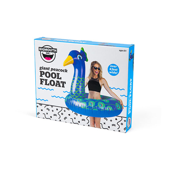 BigMouth Giant Peacock Pool Float | Cookie Jar - Home of the Coolest Gifts, Toys & Collectables