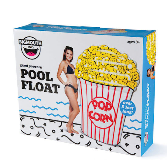 BigMouth Giant Popcorn Pool Float | Cookie Jar - Home of the Coolest Gifts, Toys & Collectables