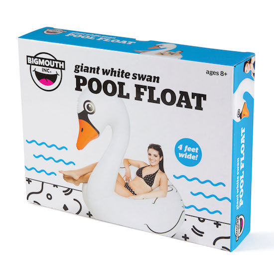 BigMouth Giant White Swan Pool Float | Cookie Jar - Home of the Coolest Gifts, Toys & Collectables