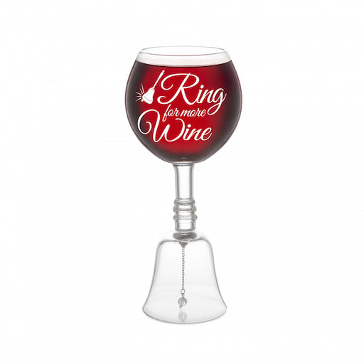 BigMouth The Ring For More Wine Glass | Cookie Jar - Home of the Coolest Gifts, Toys & Collectables