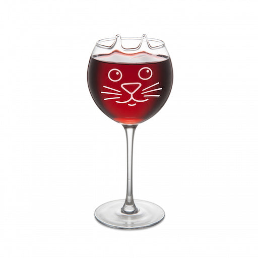 BigMouth The Purrfect Wine Glass | Cookie Jar - Home of the Coolest Gifts, Toys & Collectables