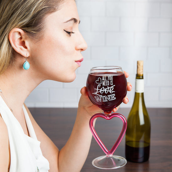 BigMouth The All You Need Is Wine Glass | Cookie Jar - Home of the Coolest Gifts, Toys & Collectables