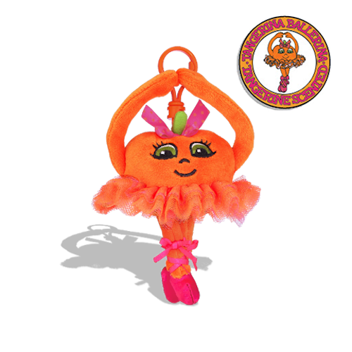Whiffer Sniffers - Tangerina Ballerina Backpack Clip | Cookie Jar - Home of the Coolest Gifts, Toys & Collectables