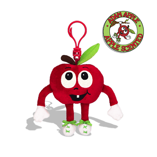 Whiffer Sniffers - Adam Apple Backpack Clip