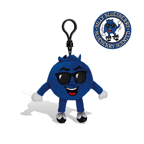 Whiffer Sniffers - Billy Bluesberry Backpack Clip