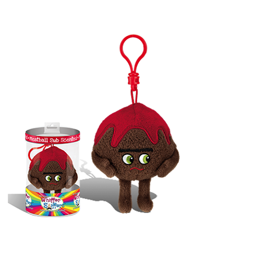 Whiffer Sniffers - 'Meatball Paul' Meatball Sub Scented Backpack Clip | Cookie Jar - Home of the Coolest Gifts, Toys & Collectables