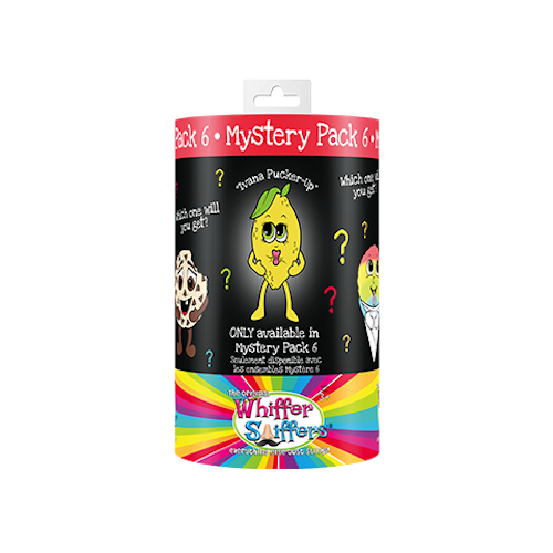 Whiffer Sniffers Mystery Pack #6 - 'Ivana Pucker-Up' Lemon Scented Backpack Clip