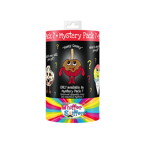 Whiffer Sniffers Mystery Pack #7 - 'Huey Gooey' Caramel Apple Scented Backpack Clip