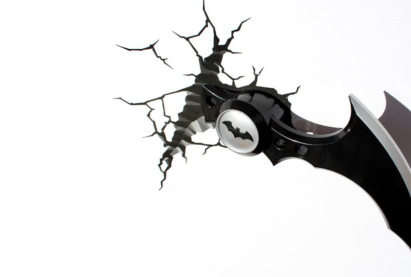 Batman's Batarang 3D Wall Light | Cookie Jar - Home of the Coolest Gifts, Toys & Collectables