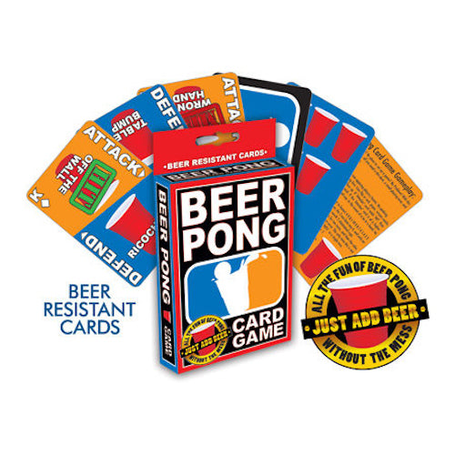 Beer Pong Card Game | Cookie Jar - Home of the Coolest Gifts, Toys & Collectables
