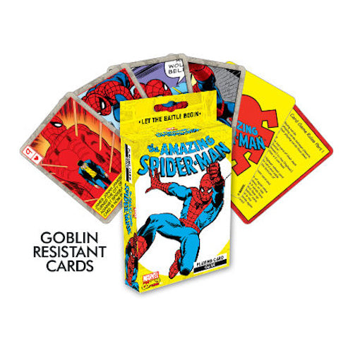 Marvel Spider Man Card Game - Cookie Jar Gifts, Toys & Collectables