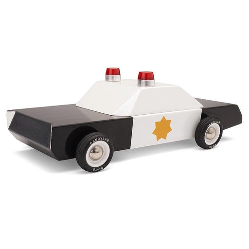 Candylab - Police Cruiser Wood Toy Car | Cookie Jar - Home of the Coolest Gifts, Toys & Collectables