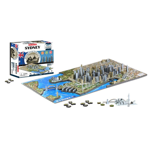 4D Cityscape - Sydney 1000pc Puzzle | Cookie Jar - Home of the Coolest Gifts, Toys & Collectables