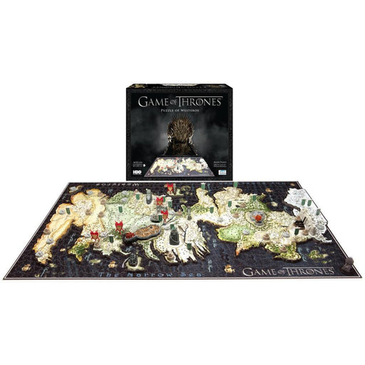 4D Game Of Thrones - Westeros 1500pc Puzzle | Cookie Jar - Home of the Coolest Gifts, Toys & Collectables