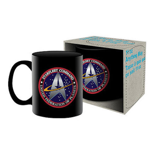 Star Trek - Starfleet Logo Ceramic Mug | Cookie Jar - Home of the Coolest Gifts, Toys & Collectables
