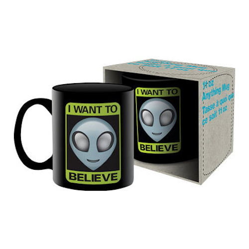 Aliens - I Want To Believe Ceramic Mug | Cookie Jar - Home of the Coolest Gifts, Toys & Collectables