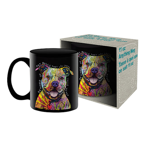 Dean Russo - Pit Bull Ceramic Mug | Cookie Jar - Home of the Coolest Gifts, Toys & Collectables