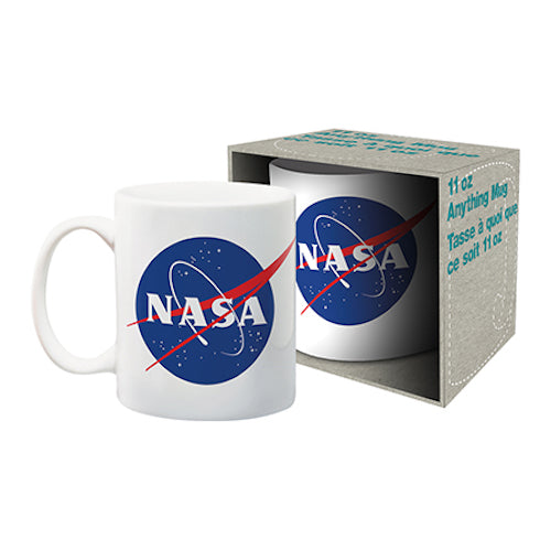 NASA Logo Mug | Cookie Jar - Home of the Coolest Gifts, Toys & Collectables