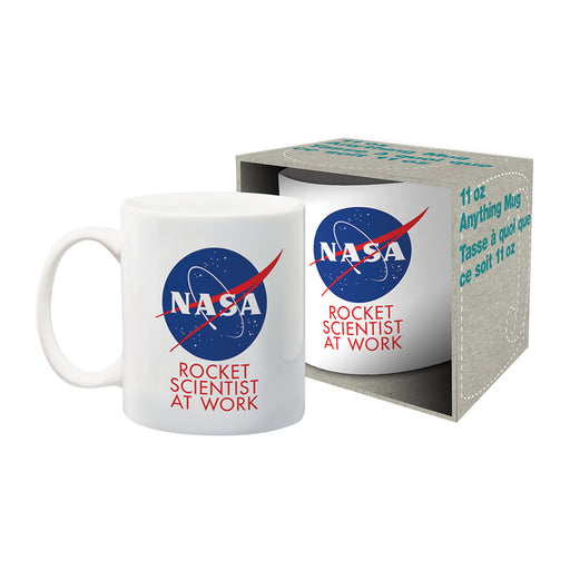 NASA ̐ Rocket Scientist Ceramic Mug | Cookie Jar - Home of the Coolest Gifts, Toys & Collectables