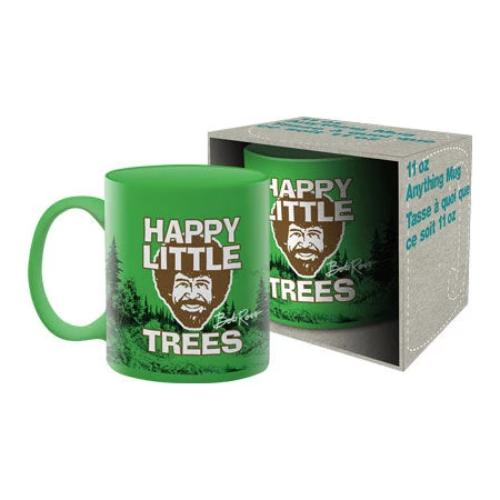 Bob Ross - Trees Ceramic Mug | Cookie Jar - Home of the Coolest Gifts, Toys & Collectables
