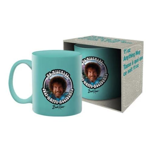 Bob Ross - No Mistakes Ceramic Mug | Cookie Jar - Home of the Coolest Gifts, Toys & Collectables