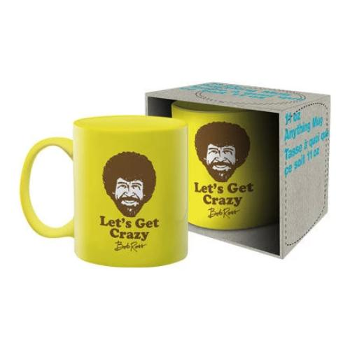 Bob Ross - Crazy Ceramic Mug | Cookie Jar - Home of the Coolest Gifts, Toys & Collectables