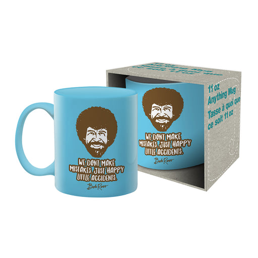 Bob Ross - Accidents Ceramic Mug | Cookie Jar - Home of the Coolest Gifts, Toys & Collectables