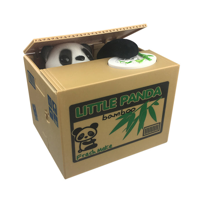 Coin Stealing Panda Money Bank | Cookie Jar - Home of the Coolest Gifts, Toys & Collectables