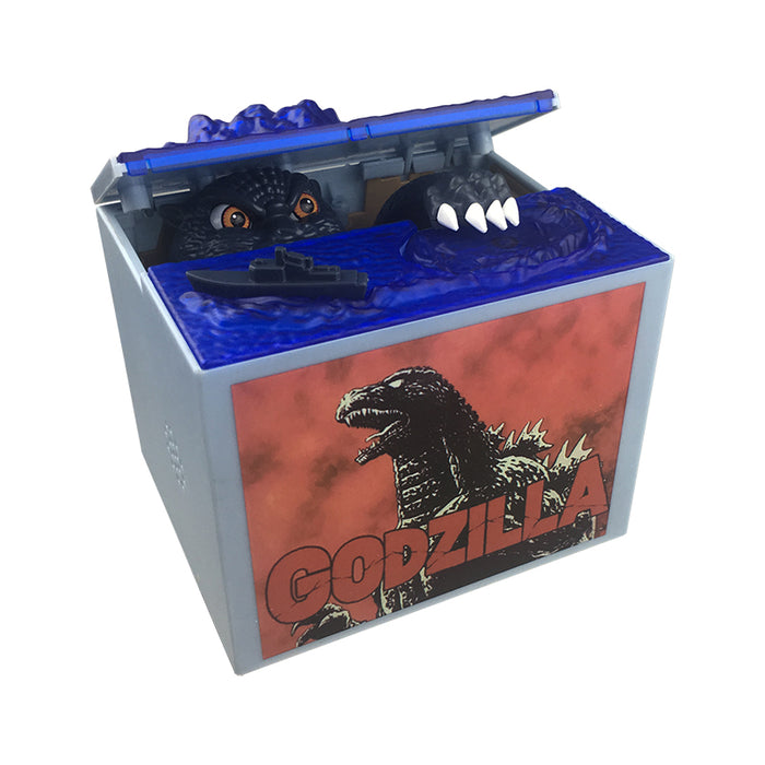 Coin Stealing Godzilla Money Bank | Cookie Jar - Home of the Coolest Gifts, Toys & Collectables