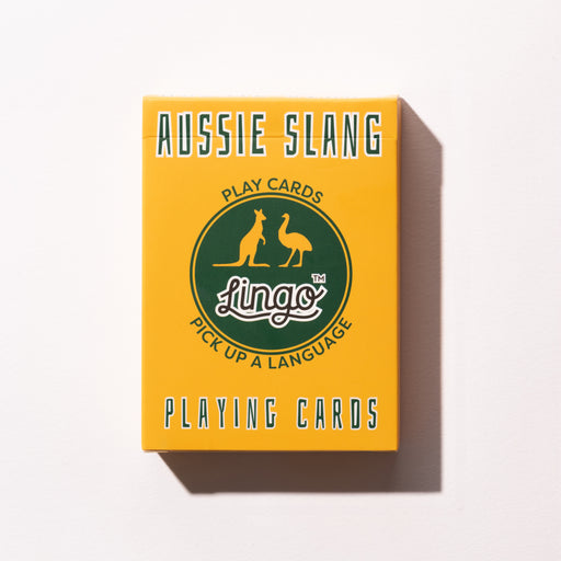 Aussie Slang Playing Cards | Cookie Jar - Home of the Coolest Gifts, Toys & Collectables