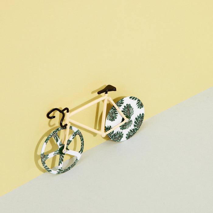 DOIY The Fixie Patterned Pizza Cutter - Tropical | Cookie Jar - Home of the Coolest Gifts, Toys & Collectables