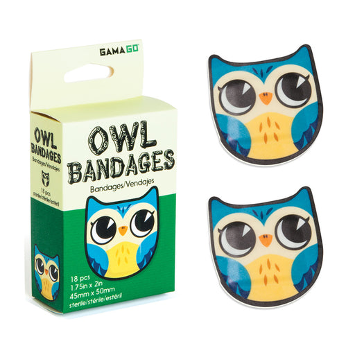 Owl Bandages | Cookie Jar - Home of the Coolest Gifts, Toys & Collectables