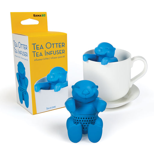 Tea Otter Tea Infuser - Blue | Cookie Jar - Home of the Coolest Gifts, Toys & Collectables