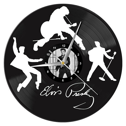 Elvis Vinyl Wall Clock | Cookie Jar - Home of the Coolest Gifts, Toys & Collectables