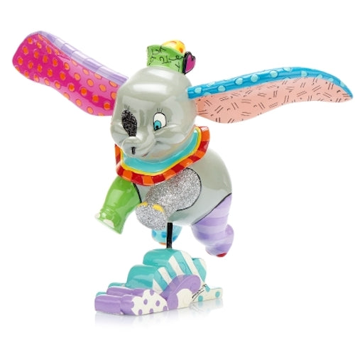 Disney By Britto - Dumbo Flying Figurine | Cookie Jar - Home of the Coolest Gifts, Toys & Collectables