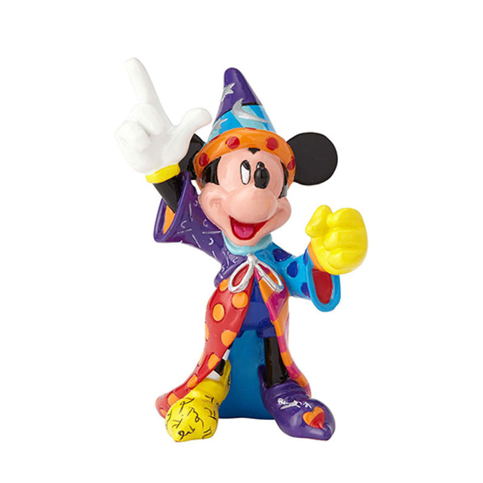 Disney By Britto - Sorcerer Mickey Mini Figurine | Cookie Jar - Home of the Coolest Gifts, Toys & Collectables