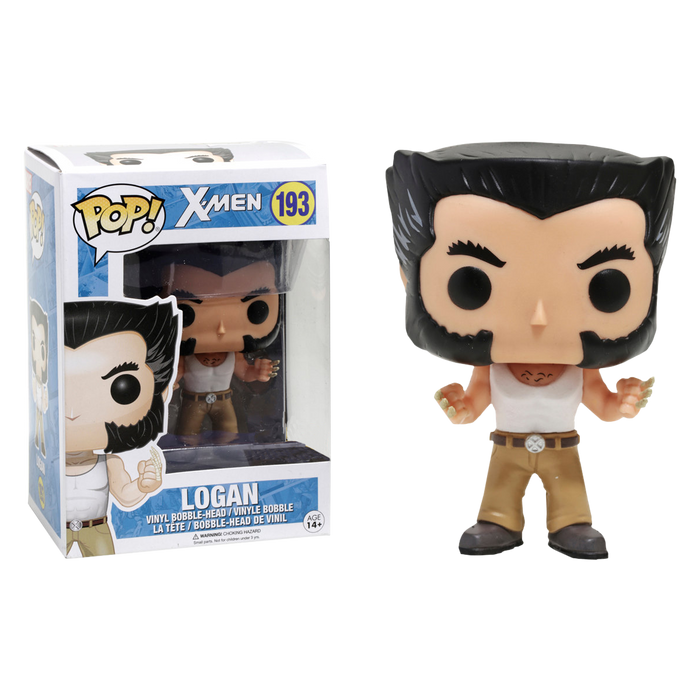 Wolverine -  Logan with Tank Top US Exclusive Pop! Vinyl Figure | Cookie Jar - Home of the Coolest Gifts, Toys & Collectables