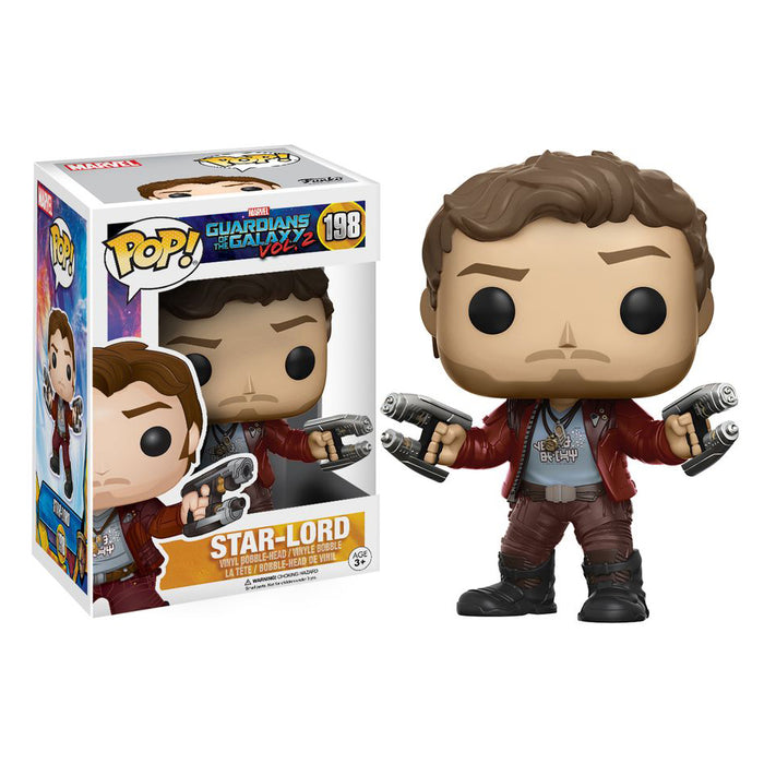 Guardians Of The Galaxy 2 - Star-Lord Pop! Vinyl Figure | Cookie Jar - Home of the Coolest Gifts, Toys & Collectables
