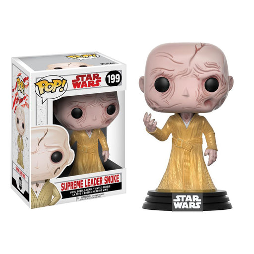 Star Wars - Supreme Leader Snoke Episode VIII The Last Jedi Pop! Vinyl Figure | Cookie Jar - Home of the Coolest Gifts, Toys & Collectables