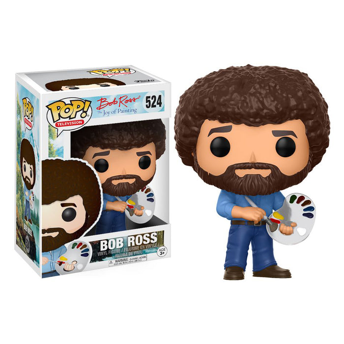 Joy Of Painting - Bob Ross Pop! Vinyl Figure | Cookie Jar - Home of the Coolest Gifts, Toys & Collectables