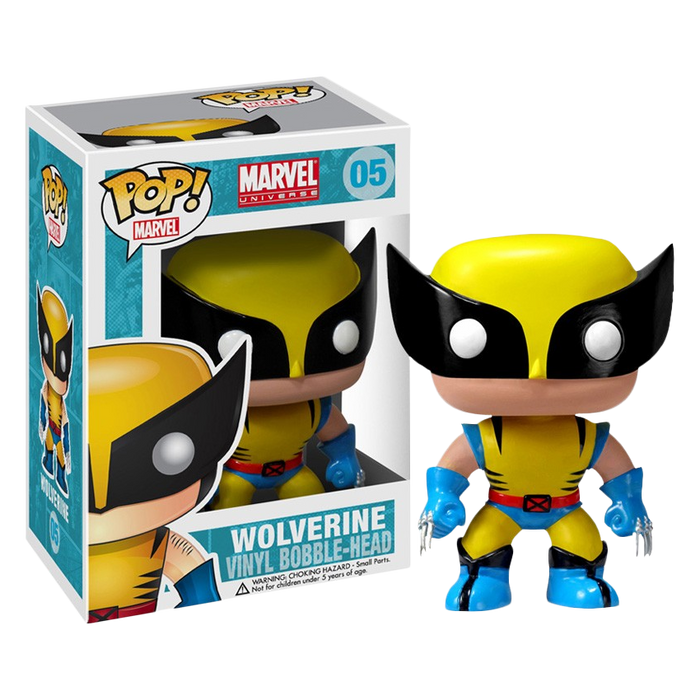 X-Men - Wolverine Pop! Vinyl Figure | Cookie Jar - Home of the Coolest Gifts, Toys & Collectables