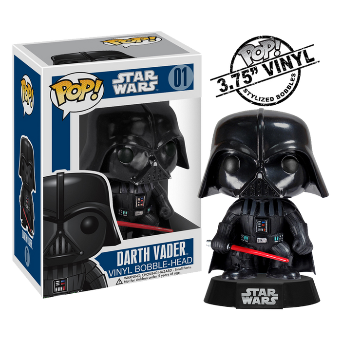 Star Wars - Darth Vader Pop! Vinyl Figure | Cookie Jar - Home of the Coolest Gifts, Toys & Collectables
