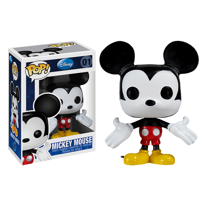 Disney - Mickey Mouse Pop! Vinyl Figure | Cookie Jar - Home of the Coolest Gifts, Toys & Collectables