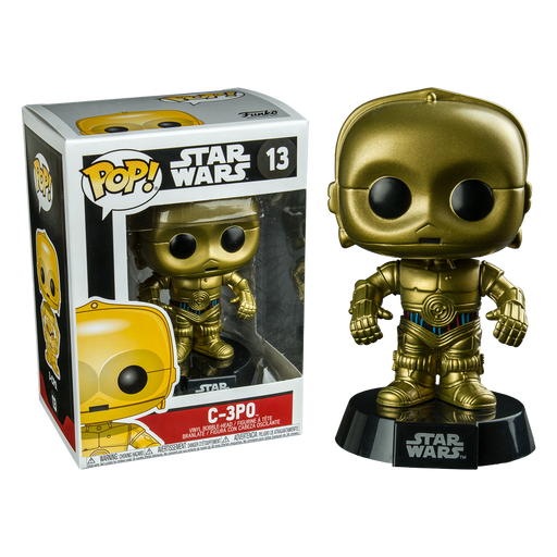 Star Wars - C-3PO Pop! Vinyl Figure | Cookie Jar - Home of the Coolest Gifts, Toys & Collectables