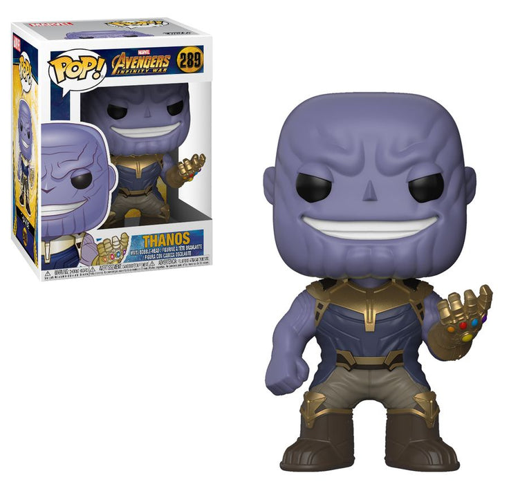 Avengers 3 - Thanos Pop! Vinyl Figure | Cookie Jar - Home of the Coolest Gifts, Toys & Collectables