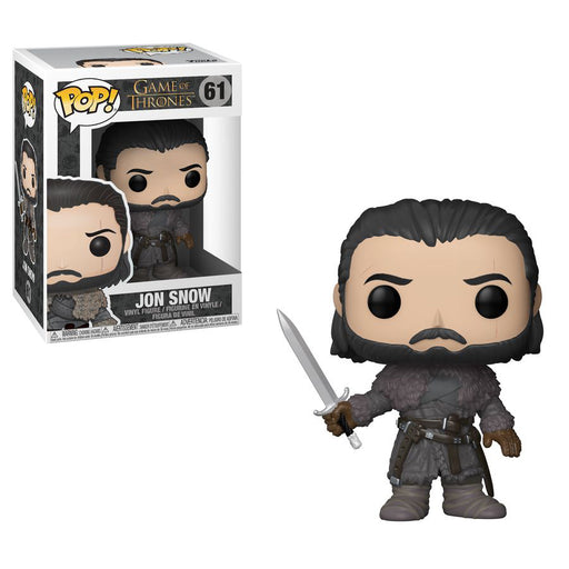 Game Of Thrones - Jong Snow Beyond The Wall Pop! Vinyl Figure | Cookie Jar - Home of the Coolest Gifts, Toys & Collectables