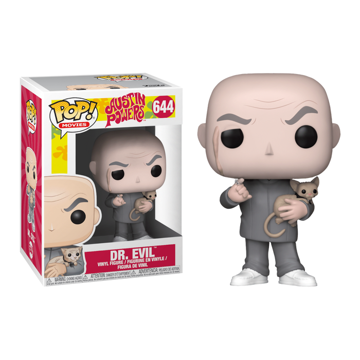Austin Powers - Dr Evil Pop! Vinyl Figure | Cookie Jar - Home of the Coolest Gifts, Toys & Collectables