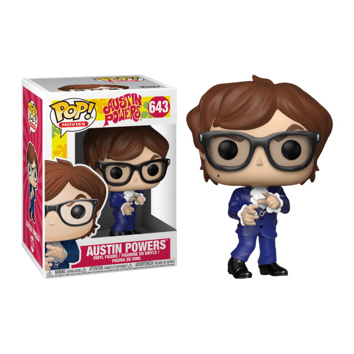 Austin Powers - Austin Pop! Vinyl Figure | Cookie Jar - Home of the Coolest Gifts, Toys & Collectables