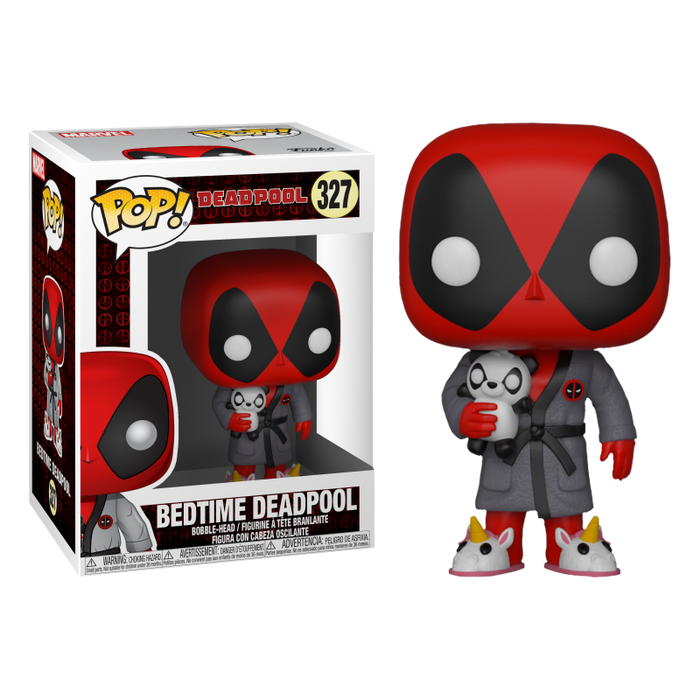 Deadpool - Bath Robe Pop! Vinyl Figure | Cookie Jar - Home of the Coolest Gifts, Toys & Collectables